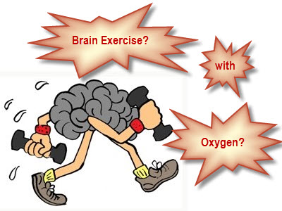 Brain Exercise with Oxygen Training