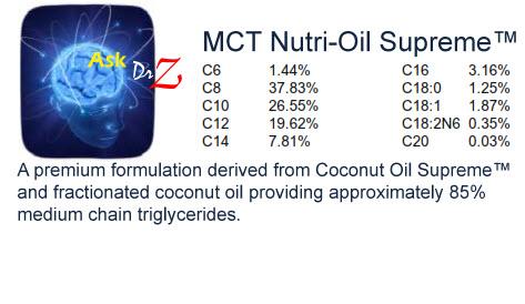Dr. z's MCT Nutri-oil Supreme