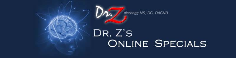 Dr. Z's Online Specials