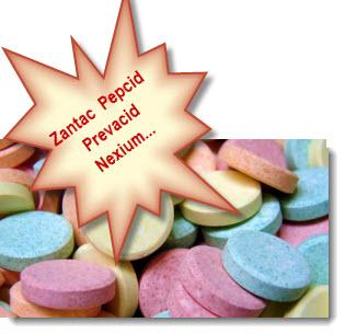 Antacid Drugs - Zantac Pepcid Prevacid Nexium